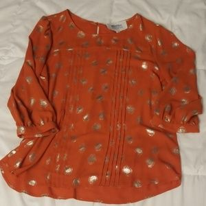 Fall ready! Stitch Fix Alice Blue blouse, Medium